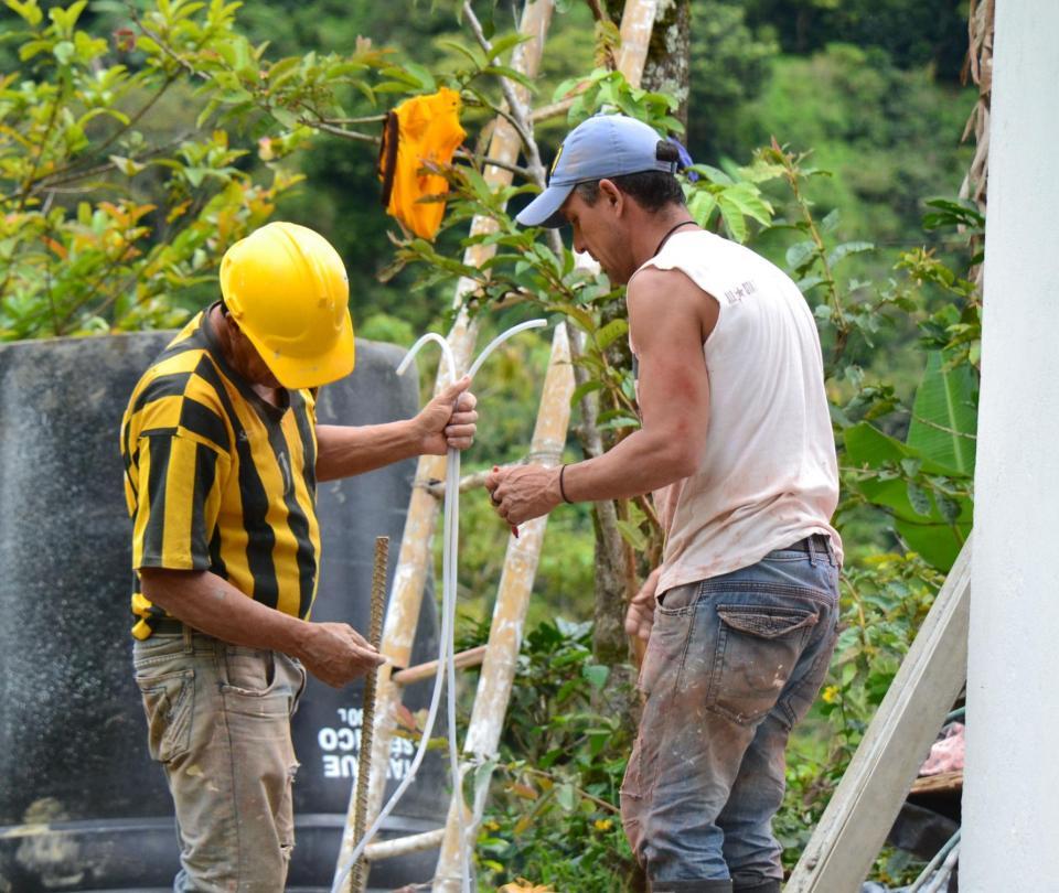´Nosotros destinamos los recursos, las comunidades ejecutan las obras'