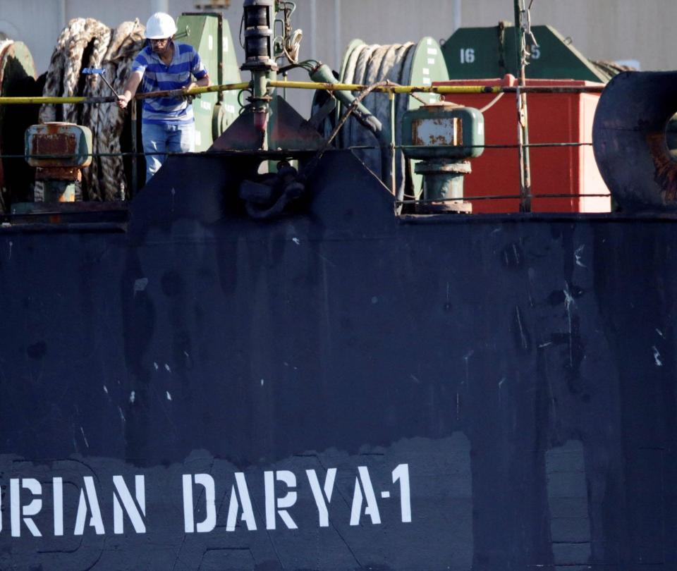 Gibraltar rechaza solicitud de EE. UU. y deja zarpar a barco iraní