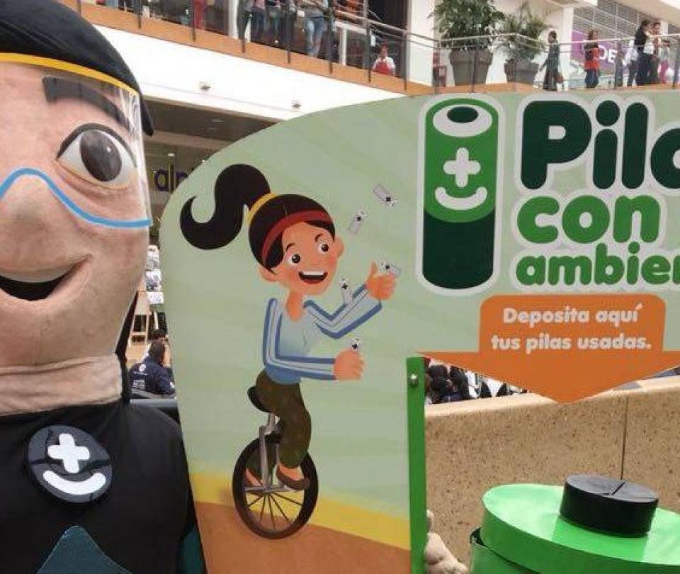 En 2018 los rellenos sanitarios en Colombia recibieron menos pilas