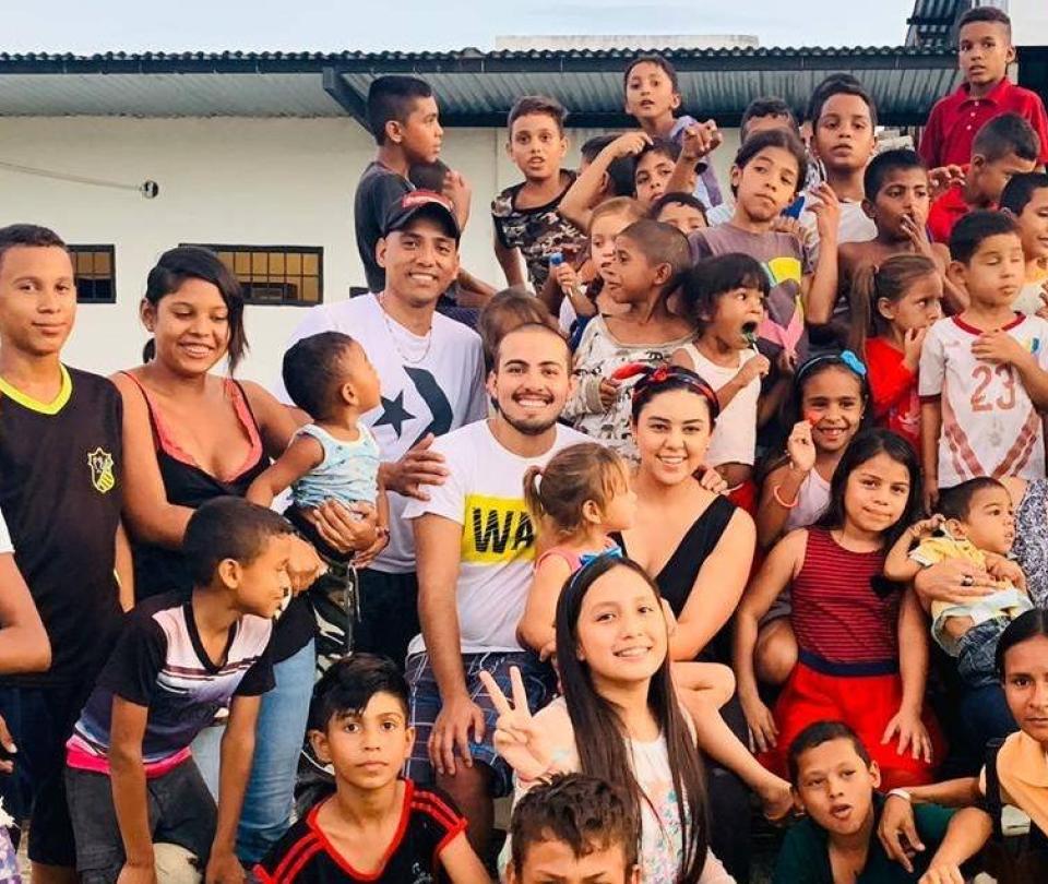 Tres días de misión junto a más de 100 niños en Venezuela