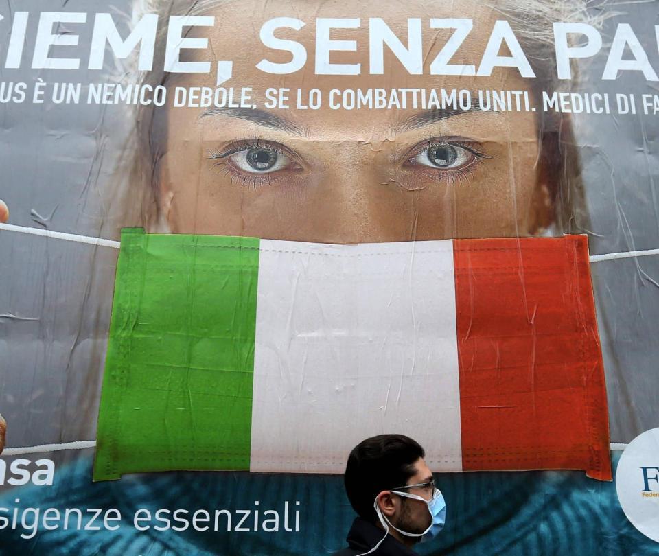 Italia pone en marcha su plan para salir del confinamiento