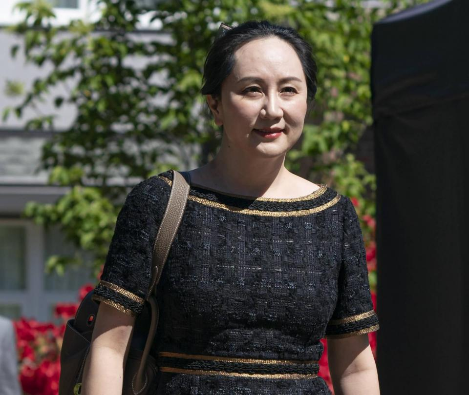 Jueza canadiense deja en libertad a ejecutiva de Huawei Meng Wanzhou