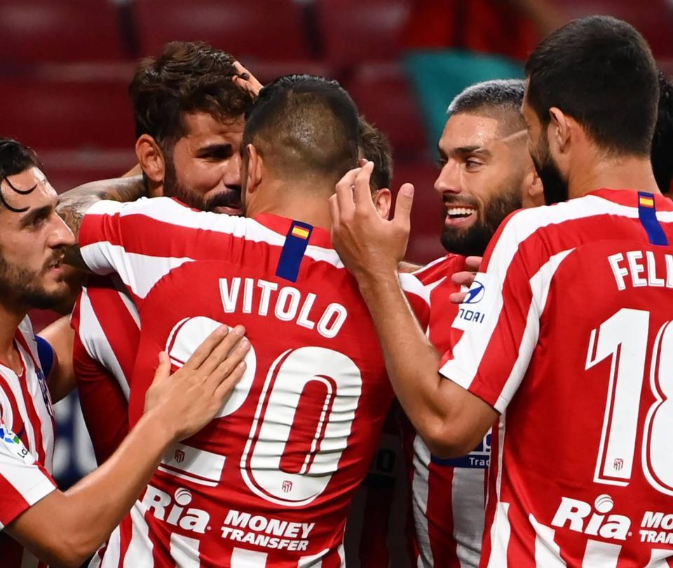 Sin misterios: Atlético de Madrid reveló los positivos por covid-19
