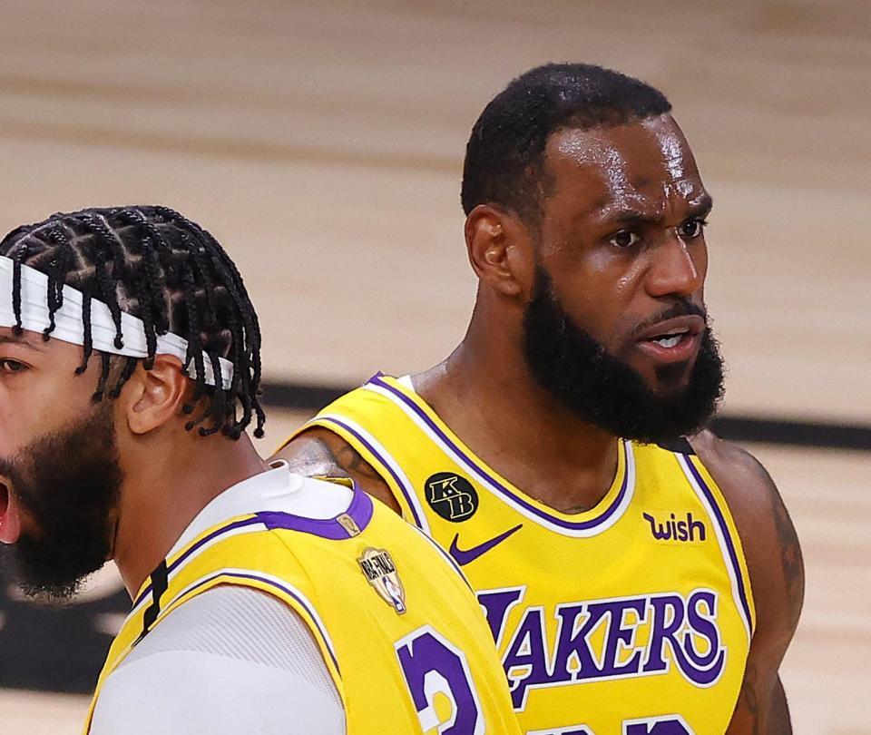 Lakers anuló a Heat y se fue adelante en la final de la NBA