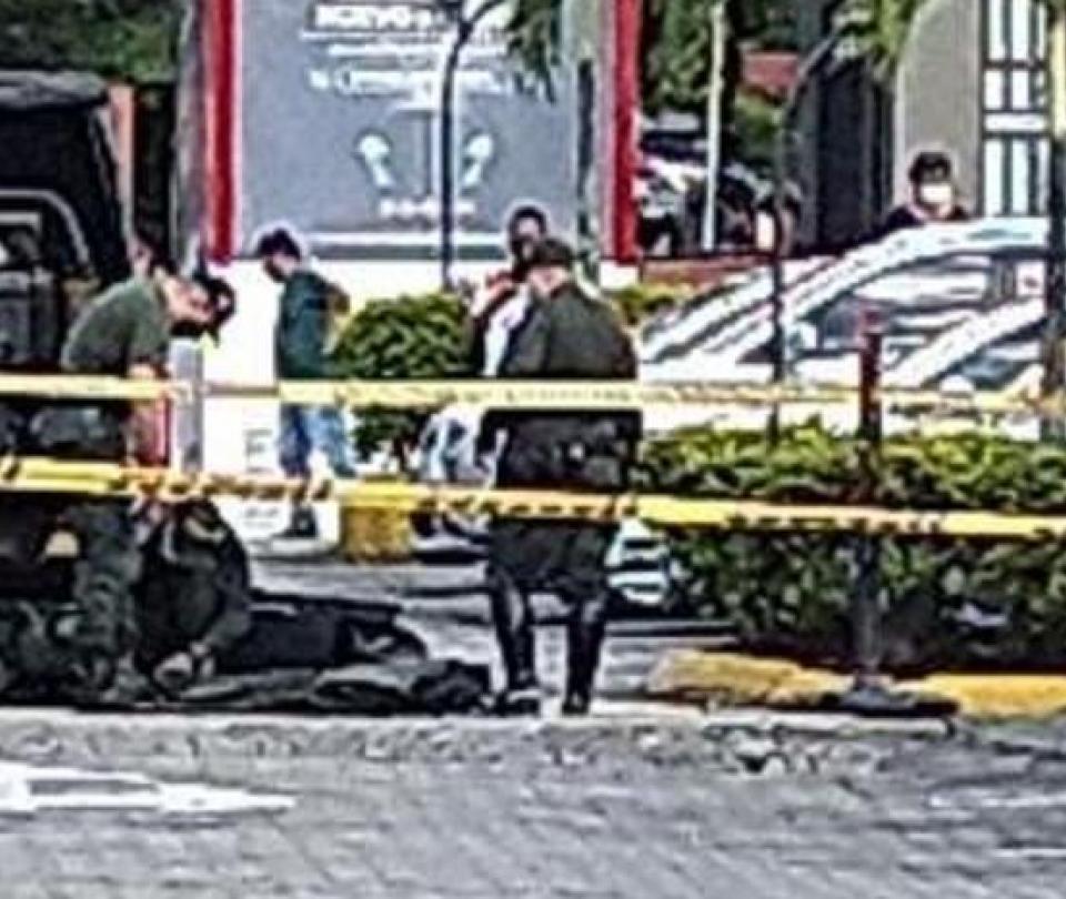 Susto en centro comercial de Medellín por detonación de una granada