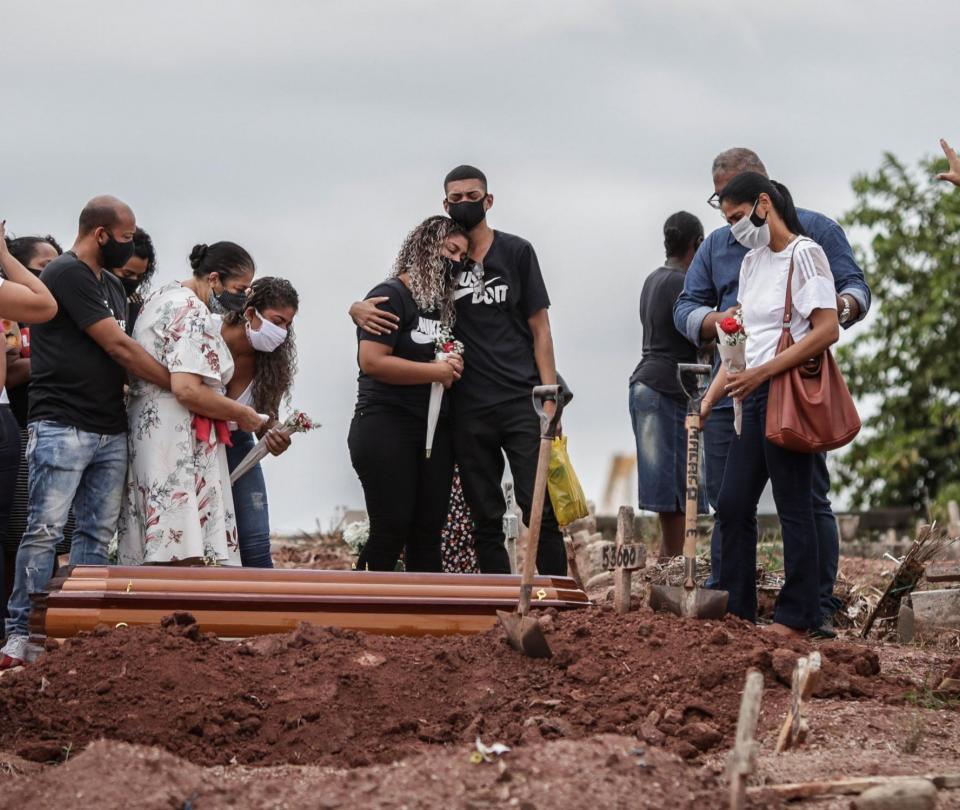 Brasil registra más muertes que nacimientos a causa del Covid-19