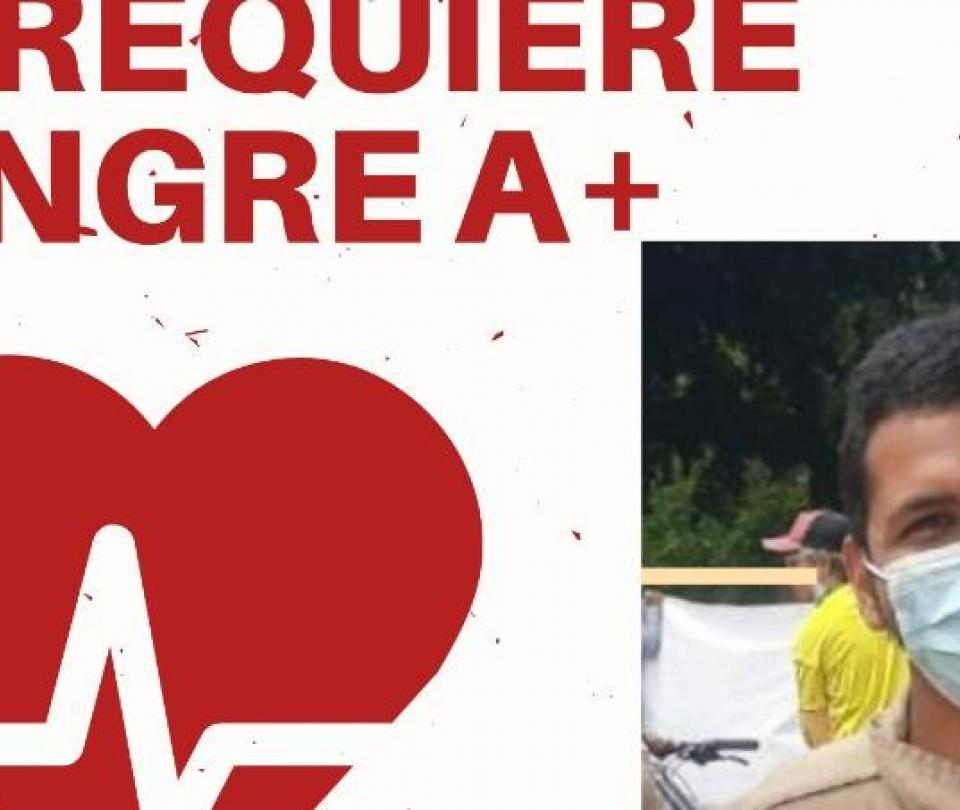 Urgencia Cali: piden donantes de sangre para salvar a universitario
