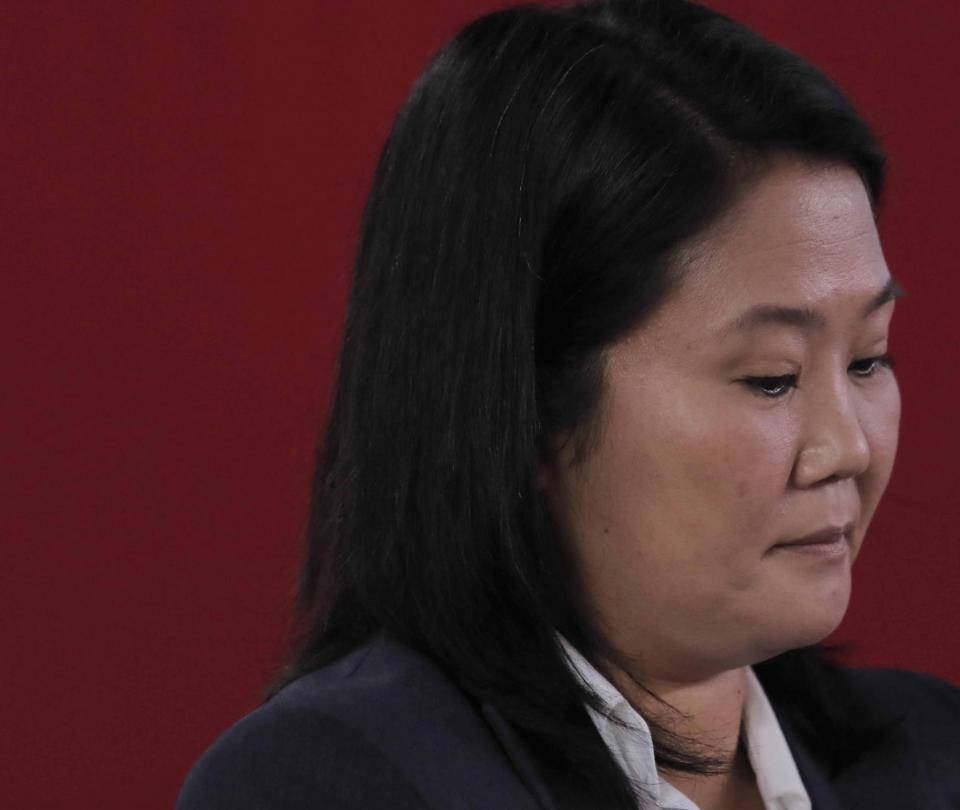 Audiencia de prisión preventiva a Keiko Fujimori eleva tensión en Perú