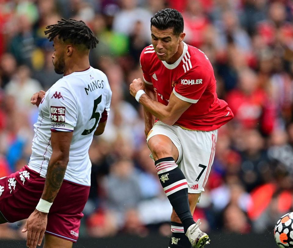 Cristiano Ronaldo: Aston Villa le cortó la racha goleadora