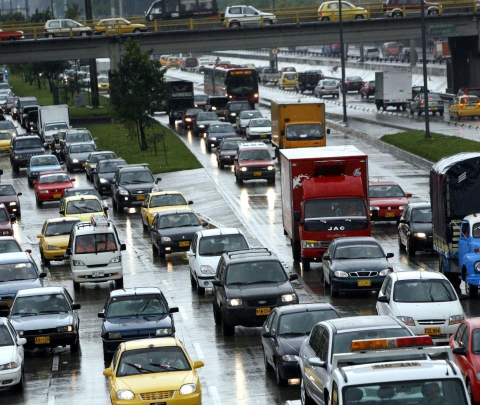 Conozca el estado de las vías y el tráfico en Bogotá este miércoles