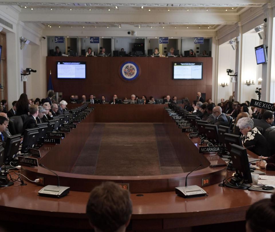 OEA exige la liberación de opositores y candidatos detenidos en Nicaragua