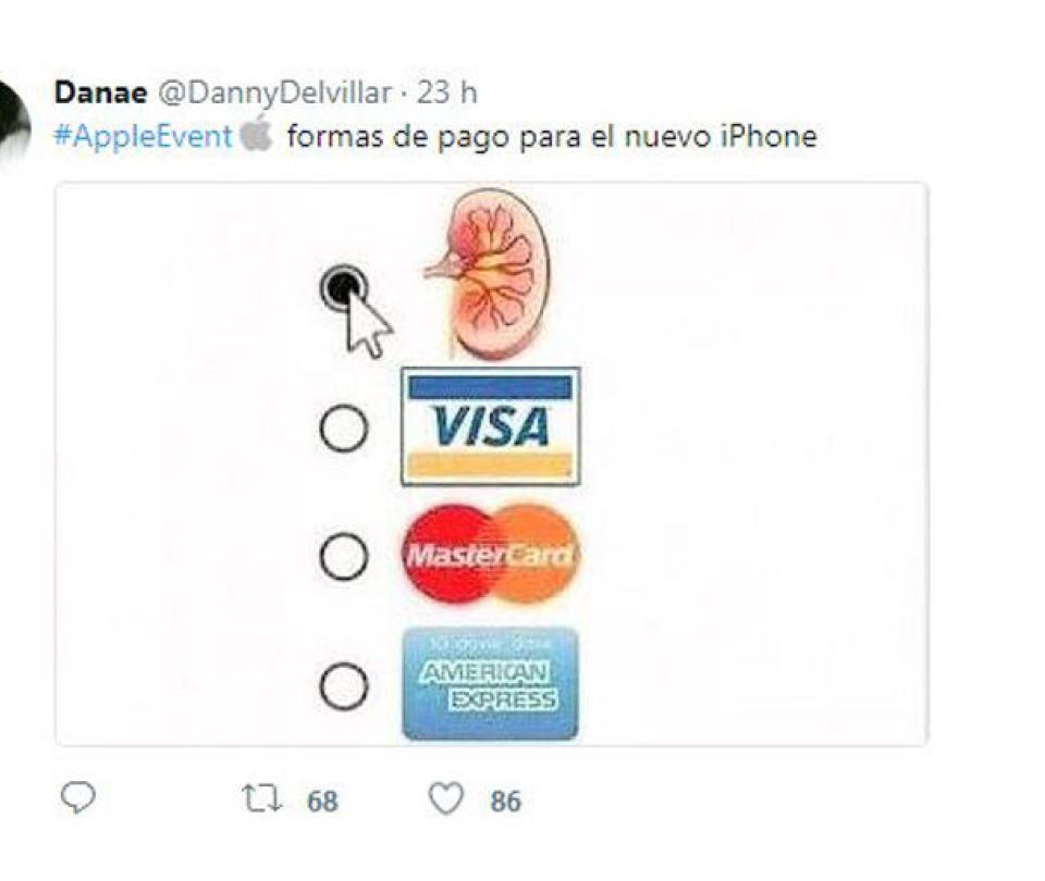 Los mejores memes que dejó el lanzamiento de los nuevos iPhone