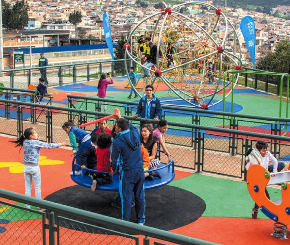 La revolución de los parques en Bogotá