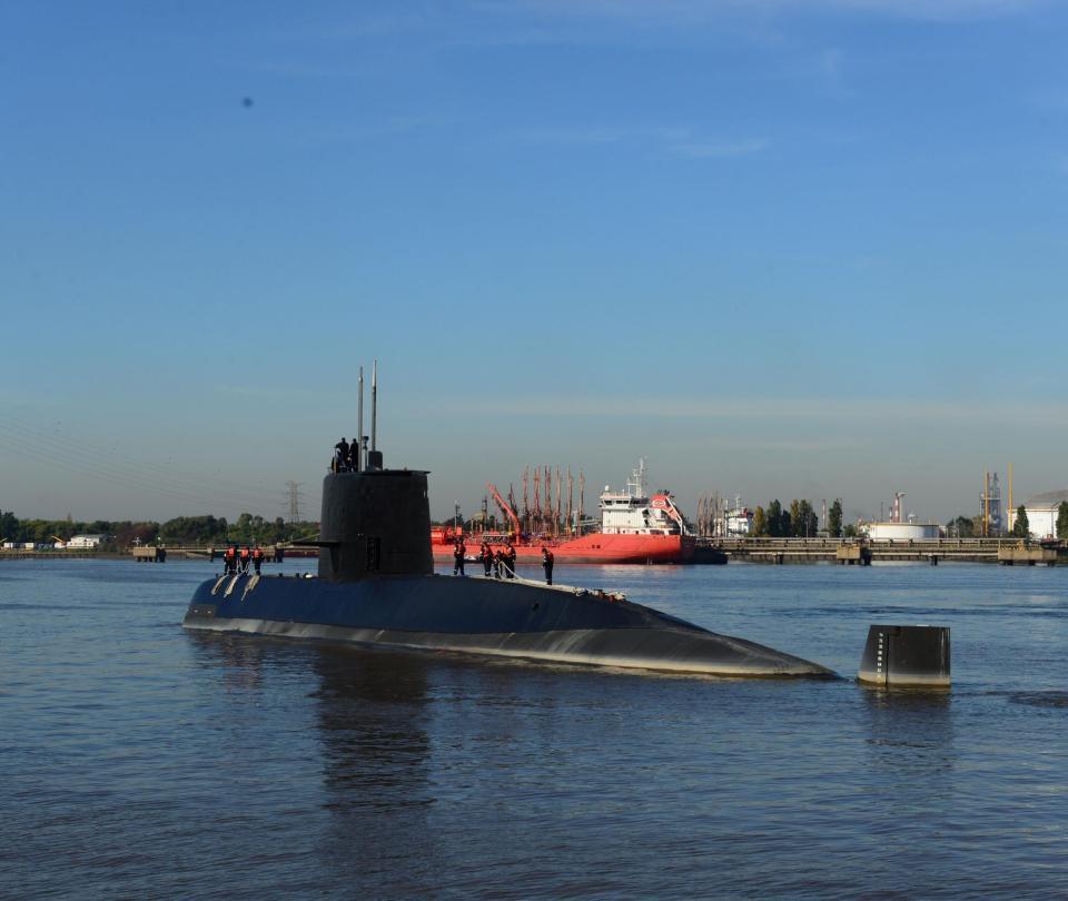 Este es el submarino argentino cuya desaparición es un misterio