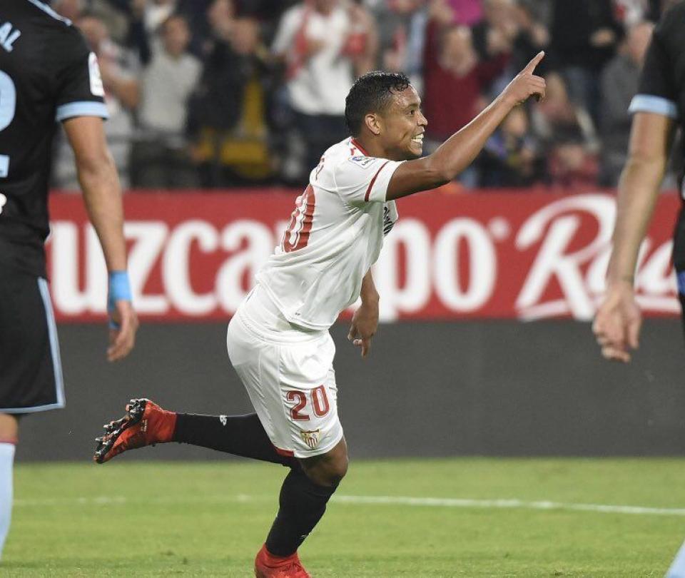 Remontada del Sevilla de la mano de Muriel: 2-1 derrotó al Celta