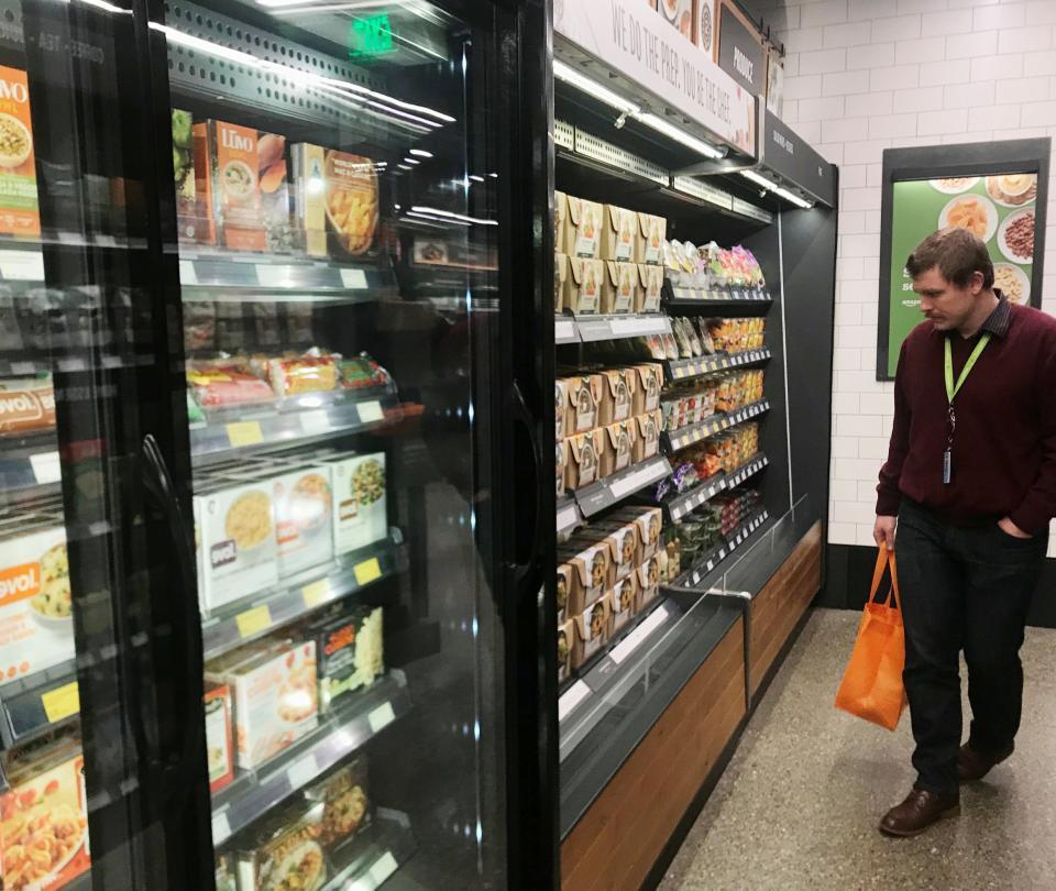 Amazon abre al público su supermercado inteligente sin cajeros