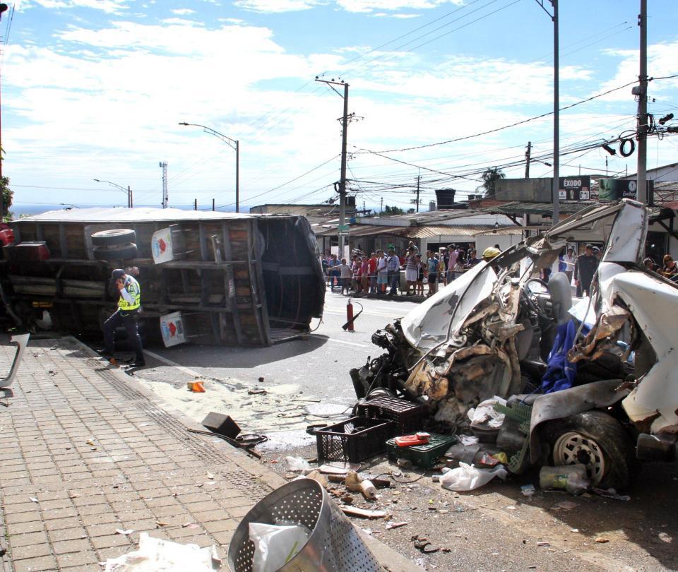 Un fallecido y 4 heridos tras accidente de tránsito en Villavicencio