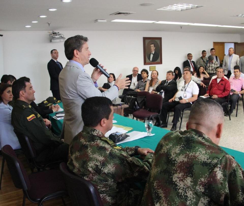 Gobernación de Antioquia analizará con alcaldes temas de seguridad