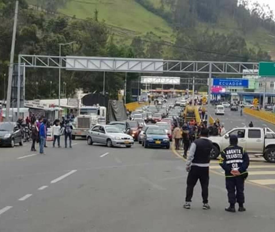 Desapariciones, la cruz que sufren en frontera de Colombia y Ecuador