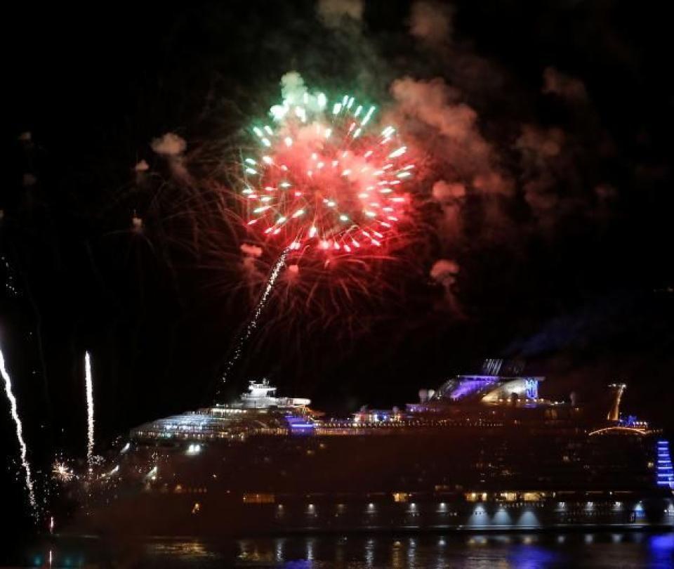 Los lujosos atractivos del crucero más grande del mundo