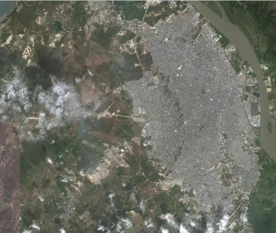 Así se ven desde el espacio 10 ciudades colombianas