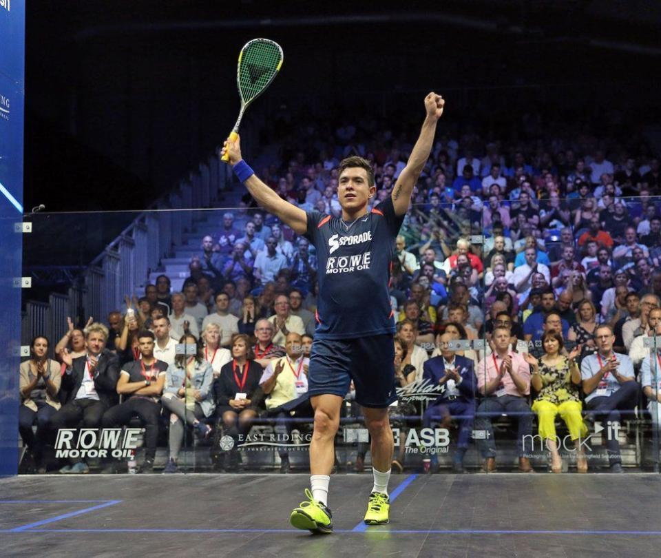 El colombiano Miguel Rodríguez, campeón del British Open de Squash