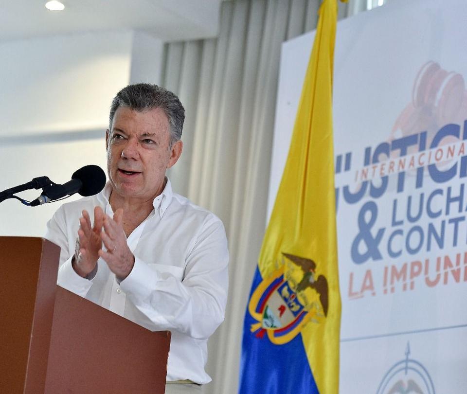 'Se ha esclarecido el 40 por ciento de asesinatos de líderes': Santos