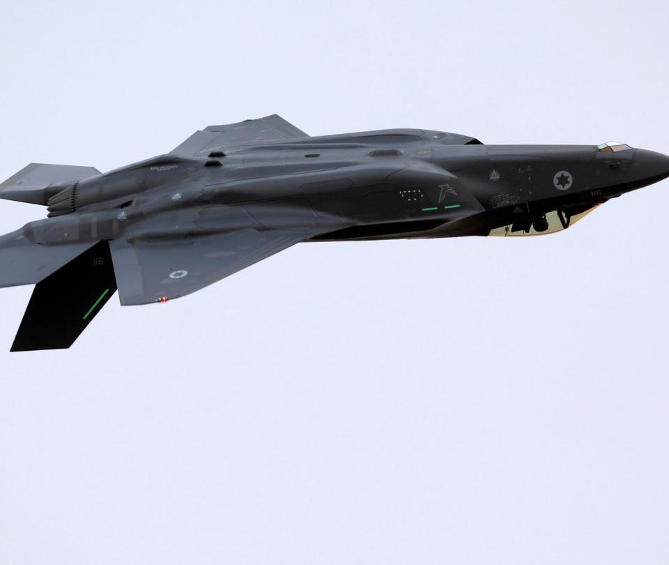 Así se ve el F-35 de Israel, el avión militar más avanzado del mundo