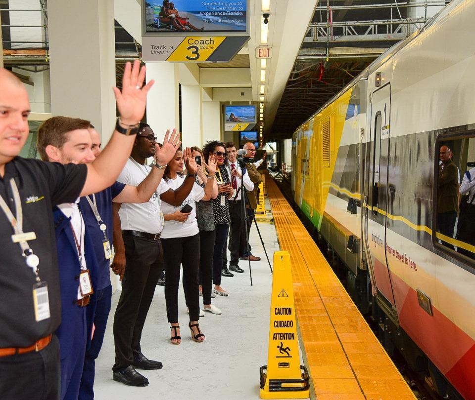 Nueva estación ferroviaria de alta velocidad, en Miami