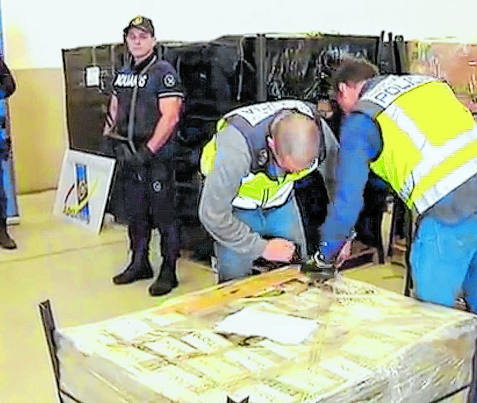 En Cartagena envían a cárcel agente de CTI que robó droga incautada