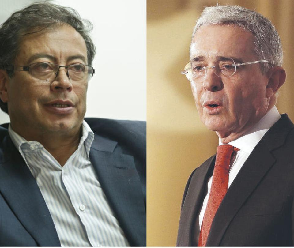 'Sicario, sicario, sicario': la frase de Uribe en réplica a Petro