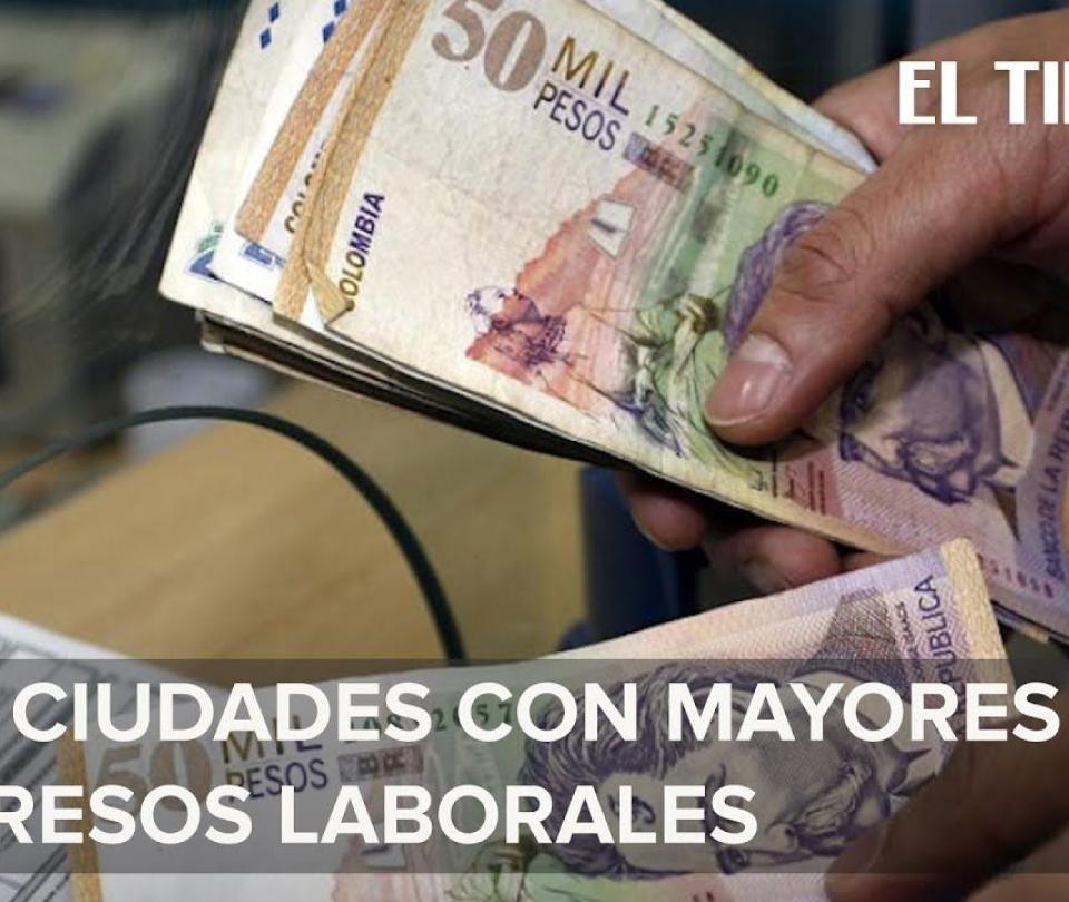 Los sueldos que les pagan a los trabajadores colombianos