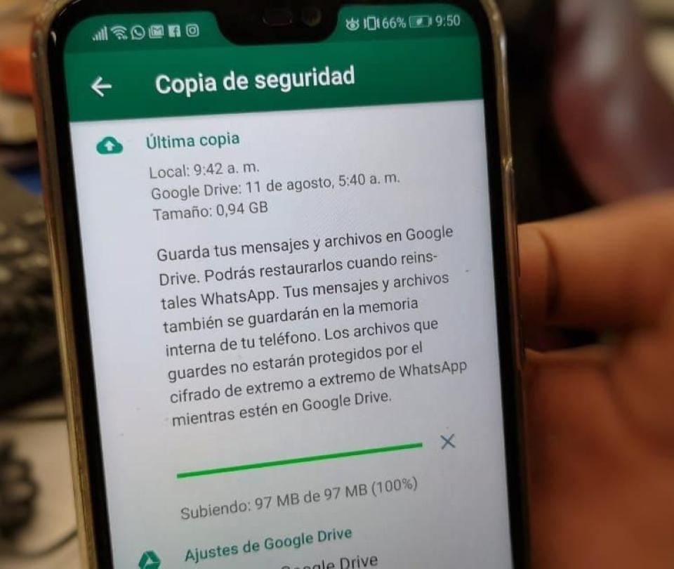 ¿Cómo pasar sus chats de WhatsApp de un celular viejo a uno nuevo?