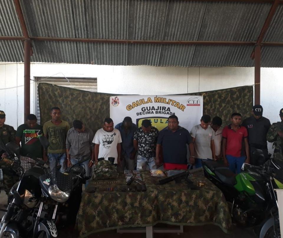 107 capturados por extorsión en Colombia y más noticias en datos