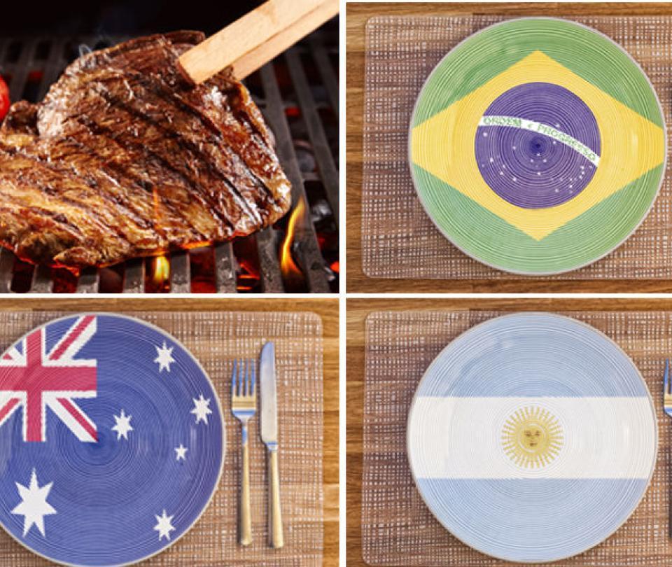 Los países en los que se que come más carne en el mundo