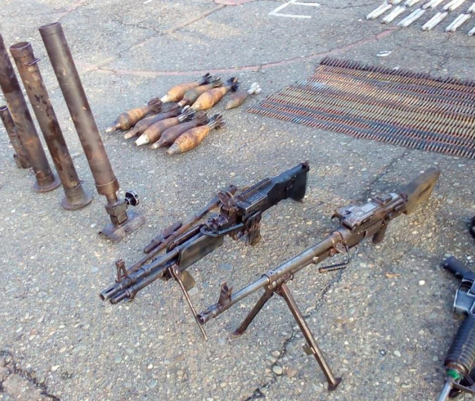Material de guerra del 'Clan del golfo' fue decomisado en Antioquia