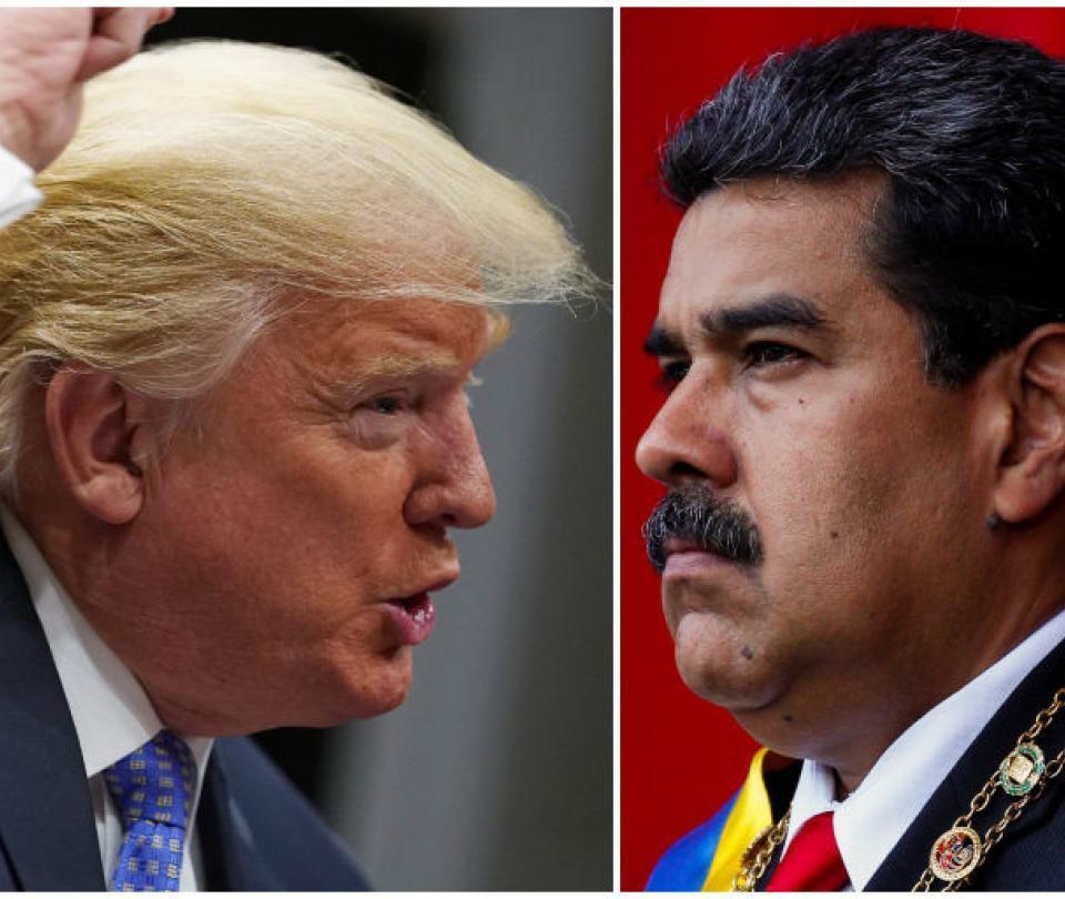 Las fuertes advertencias que Trump y EE. UU. le han hecho a Maduro