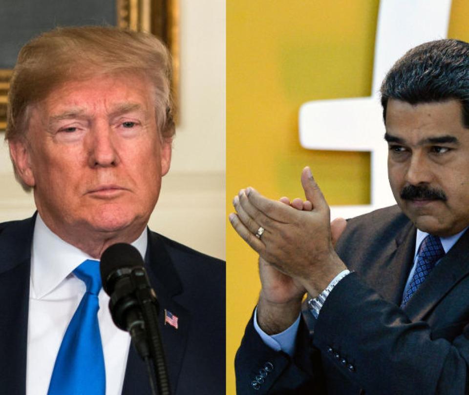 Trump dice que Maduro
