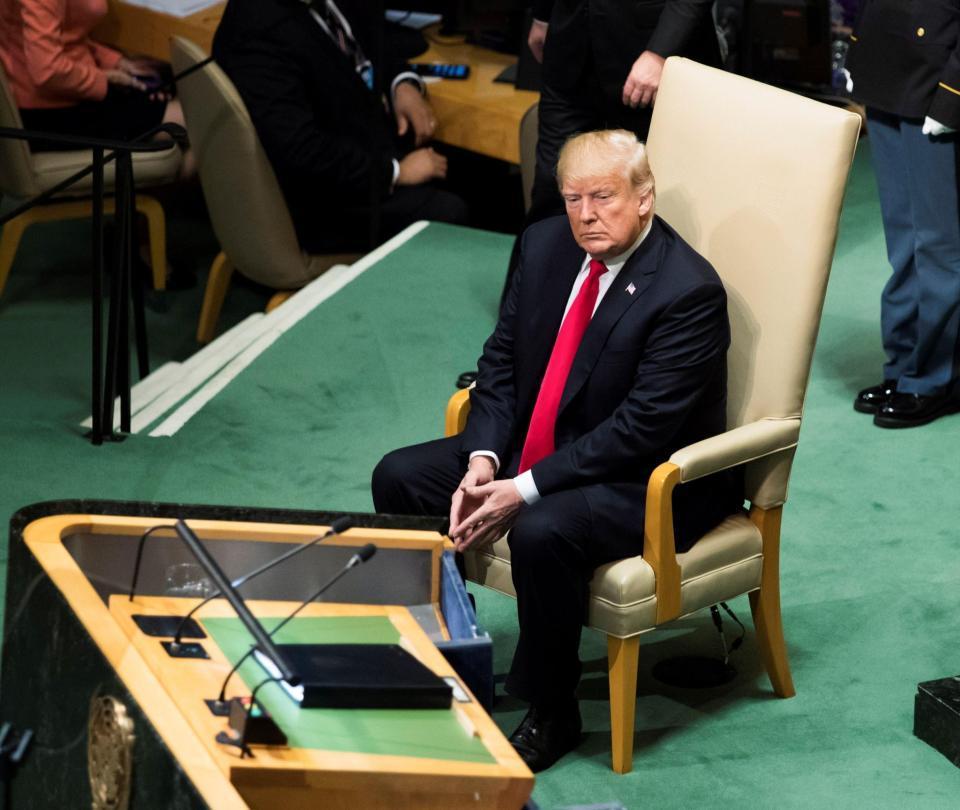 El presidente de Estados Unidos, solo contra el mundo