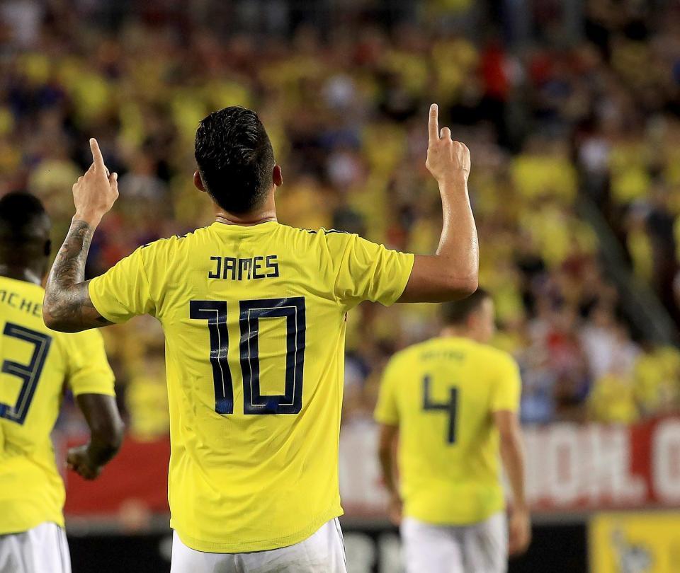 James, la gran figura del triunfo de Colombia contra Estados Unidos