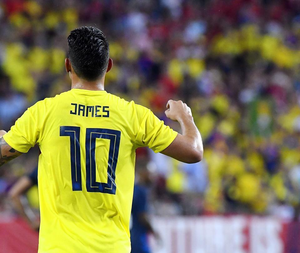 Prensa alemana destaca la actuación de James con Colombia