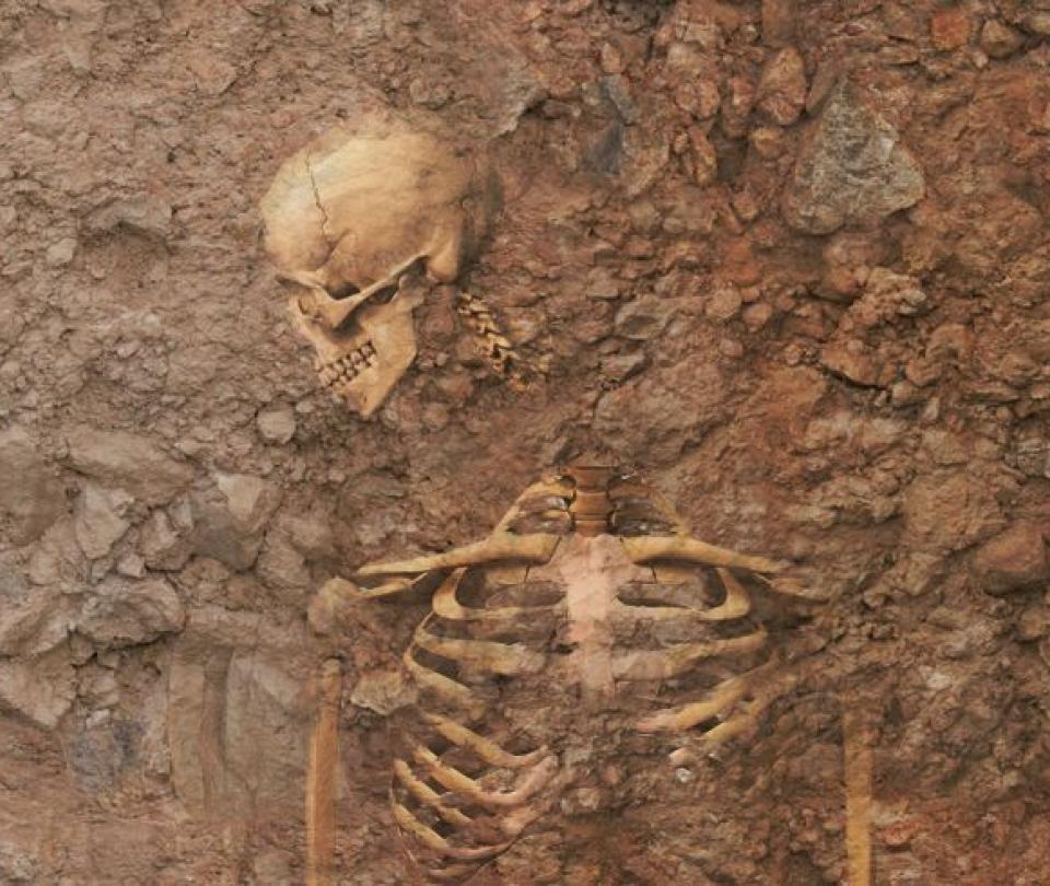 Hallan restos de mujeres y niños decapitados hace 2.000 años
