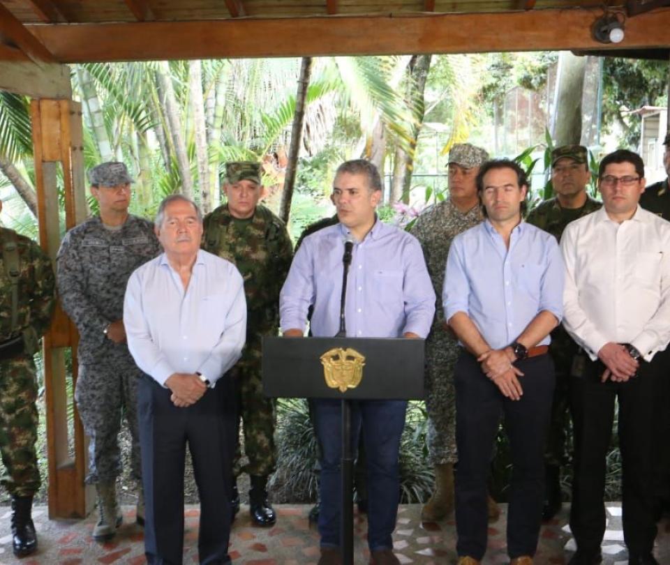 Presidente apoya extradición de cabecillas criminales de Medellín