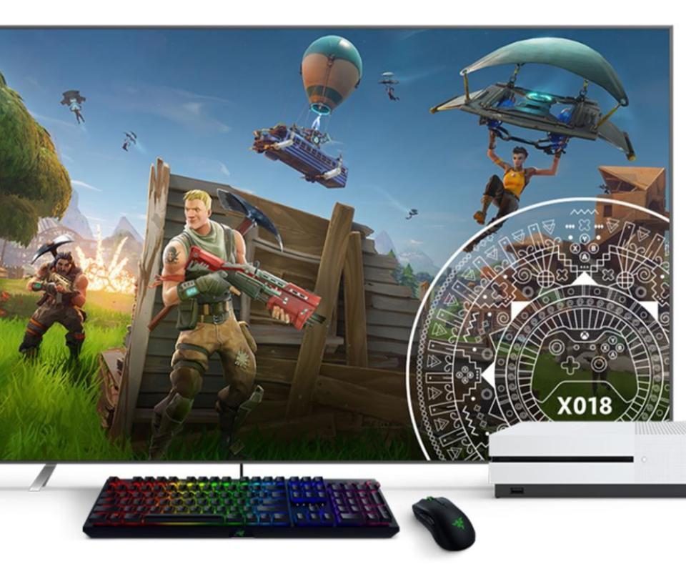 Ahora podrá jugar con un teclado y un mouse en su Xbox One