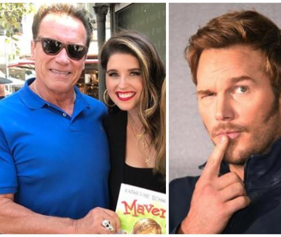 Ella es la hija de Schwarzenegger que sale con el célebre Chris Pratt