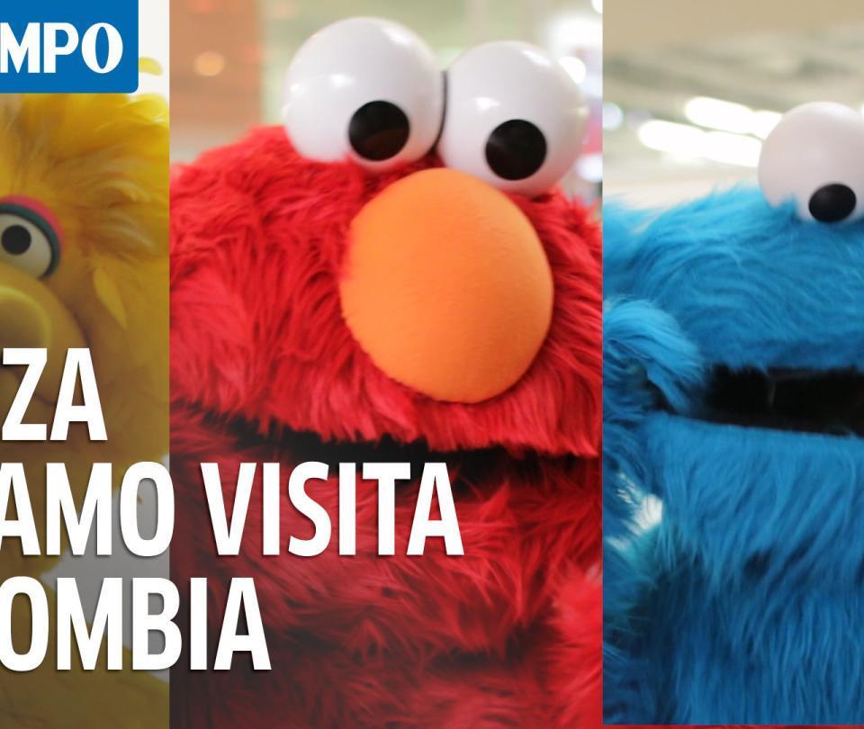 ¿Los recuerda? Los personajes de Plaza Sésamo visitan Colombia