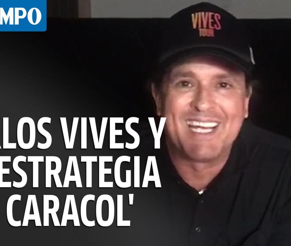 Así llegó Carlos Vives a 'La estrategia del caracol'