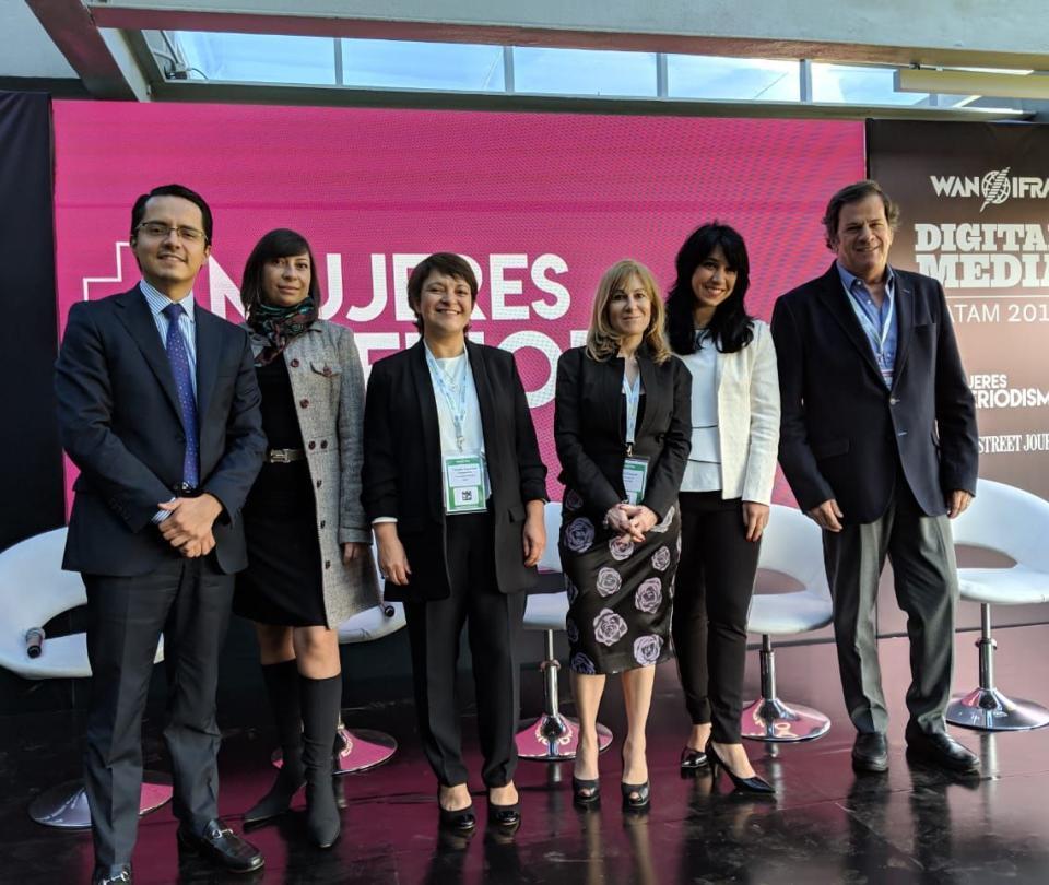 Habilidades digitales para mujeres periodistas en Colombia