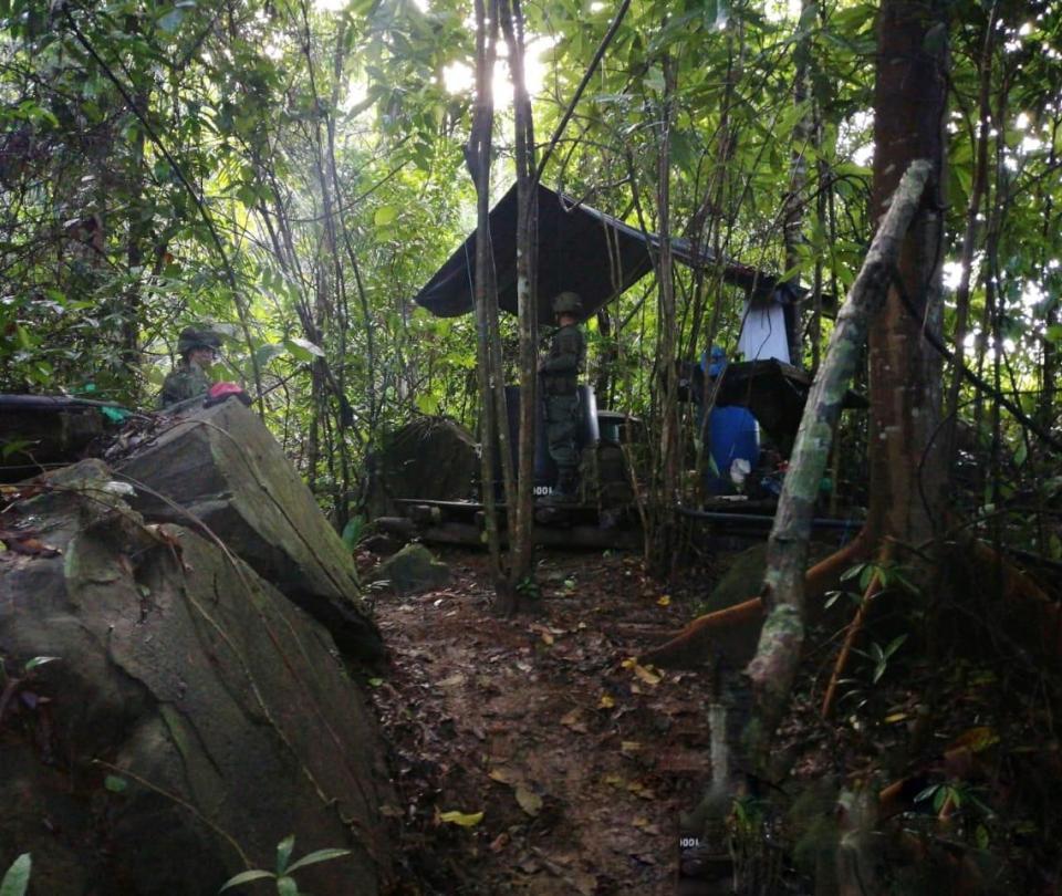 Destruyen laboratorio cocalero de Los Pelusos, en el Catatumbo