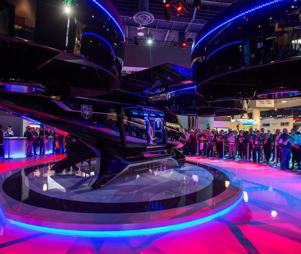 El impresionante vehículo volador que se presentó en el CES 2019